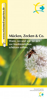 Flyer Mücken, Zecken & Co.